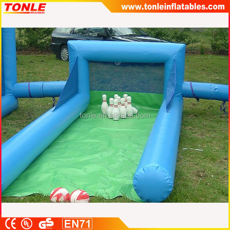 China inflatable Skittle Alley game for sale