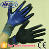 NMSAFETY 13G nylon glove with Super Quality Nitrile plam dipped Nylon Working Glove/Safety glove