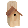 Unique design style lovely custom factory direct supply wooden bird house wholesale