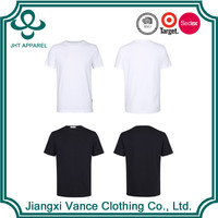 round bottom cheap chinese 50 cotton 50 polyester wholesale t shirts cheap plain white t shirts in bulk plain