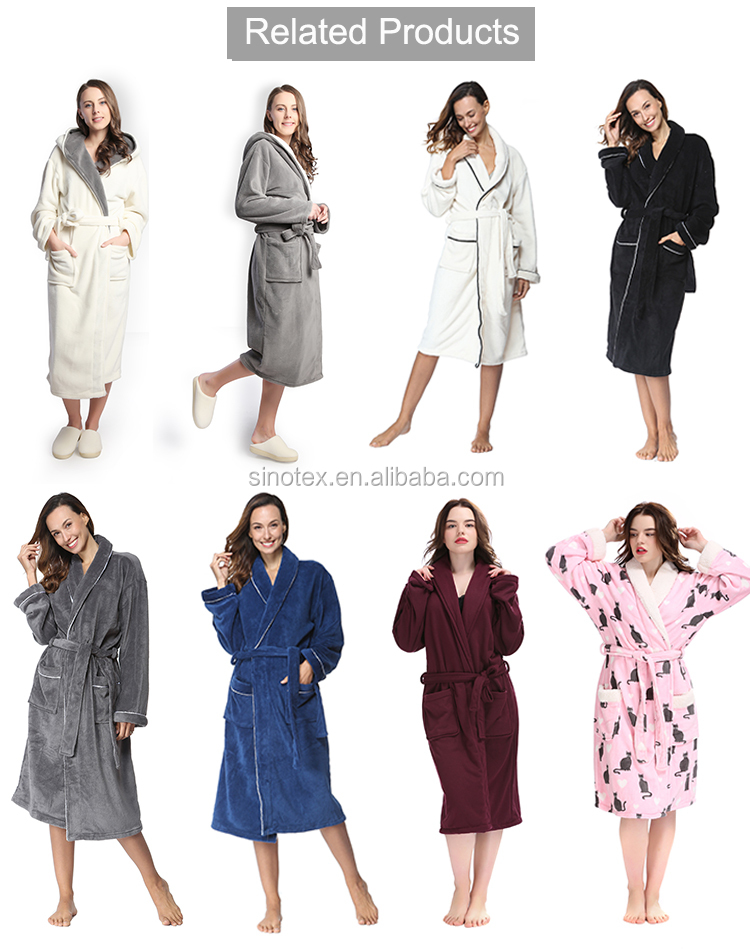 Hoge kwaliteit pijama nachtkleding loungewear jersey pyjama set winter dames badjas groothandel vrouwen pyjama met multi patroon