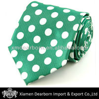 Polka Dot Tie with Black, Pink, Green, Purple & Red Color