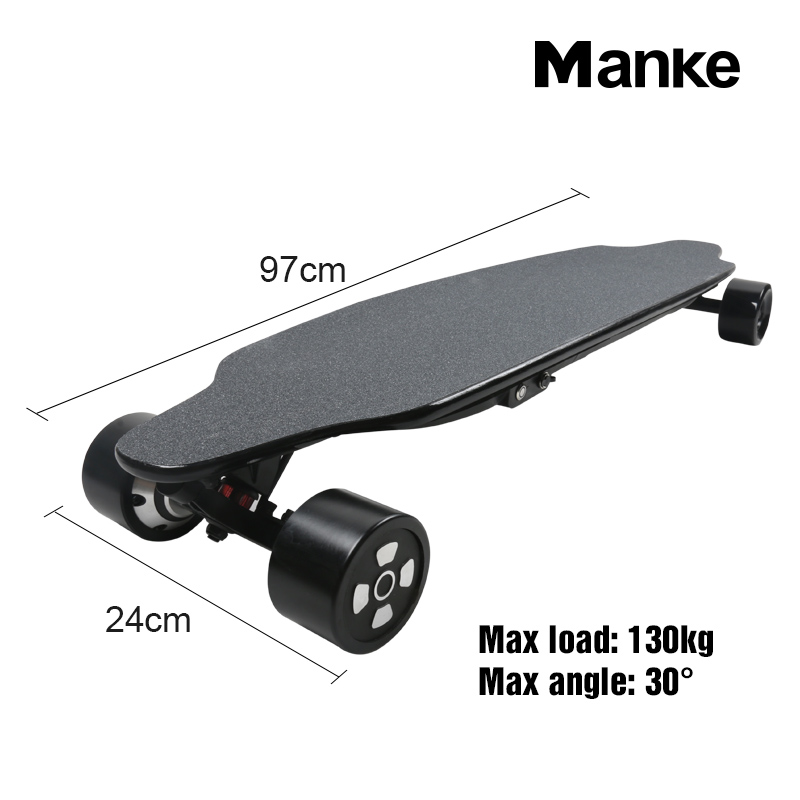 2018 Hot sales Dual motor 1200W electric skateboard 4 wheel self balancing scooter