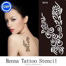 Henna Stencil Tattoo Reusable Glitter Tattoo Stencil For Drawing Art