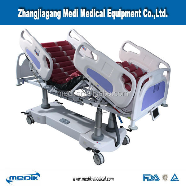 Lateral tilting ICU bed YA-15 rotating hospital beds