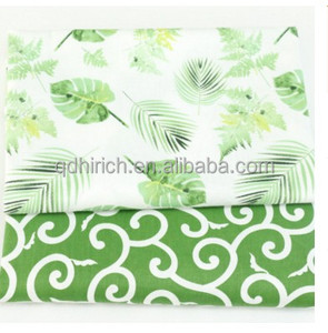hot selling 100 cotton canvas fabric flower cotton printed fabric