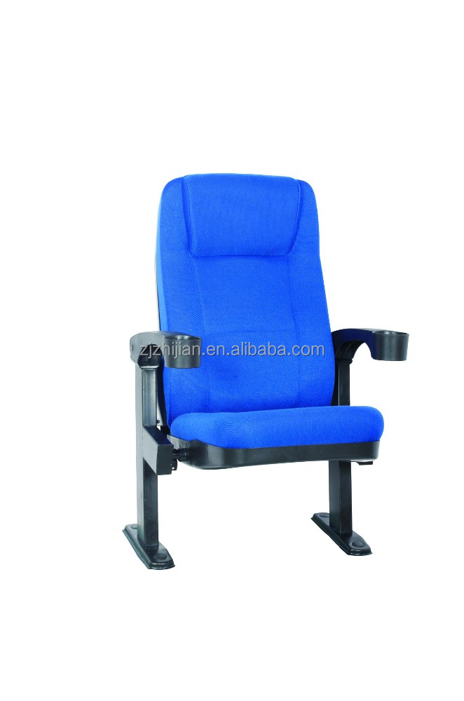 Commercial Furniture General Use Yes Folding seat for cinema chair with cupholoder