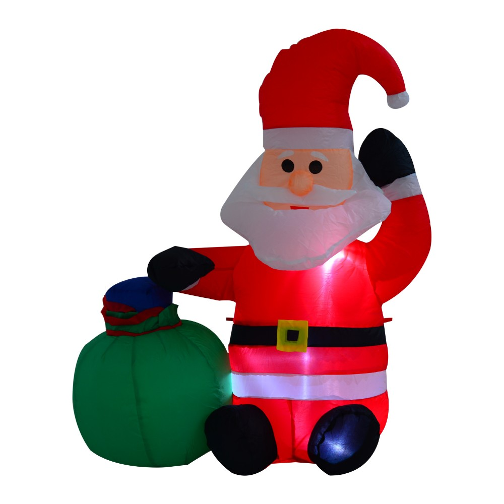 Inflatable life size christmas decorations lowes