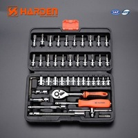 "All Kinds Of 46 pcs 1/4"" DR. Universal Auto Hand Tools Impact Socket Set"