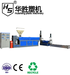 waste abs pe pp polystyrene recycling machine