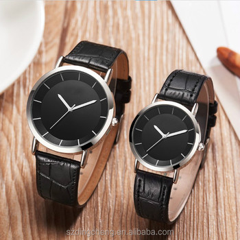39753ea34 custom logo gift fashion couple lover luxury quartz wrist watches ...