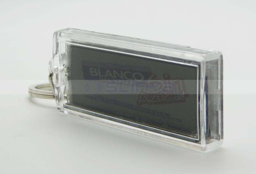 LCD solar llavero Mini