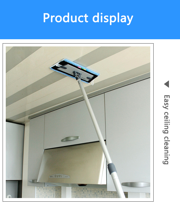 Extenclean New Product Ideas 2019 Technology Ceiling Cleaning Equipment Retractable Floor Cleaners For Walls And