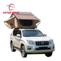 Hot Selling Hitorhike 420D oxford Anti-UV foldable camping car roof top tent