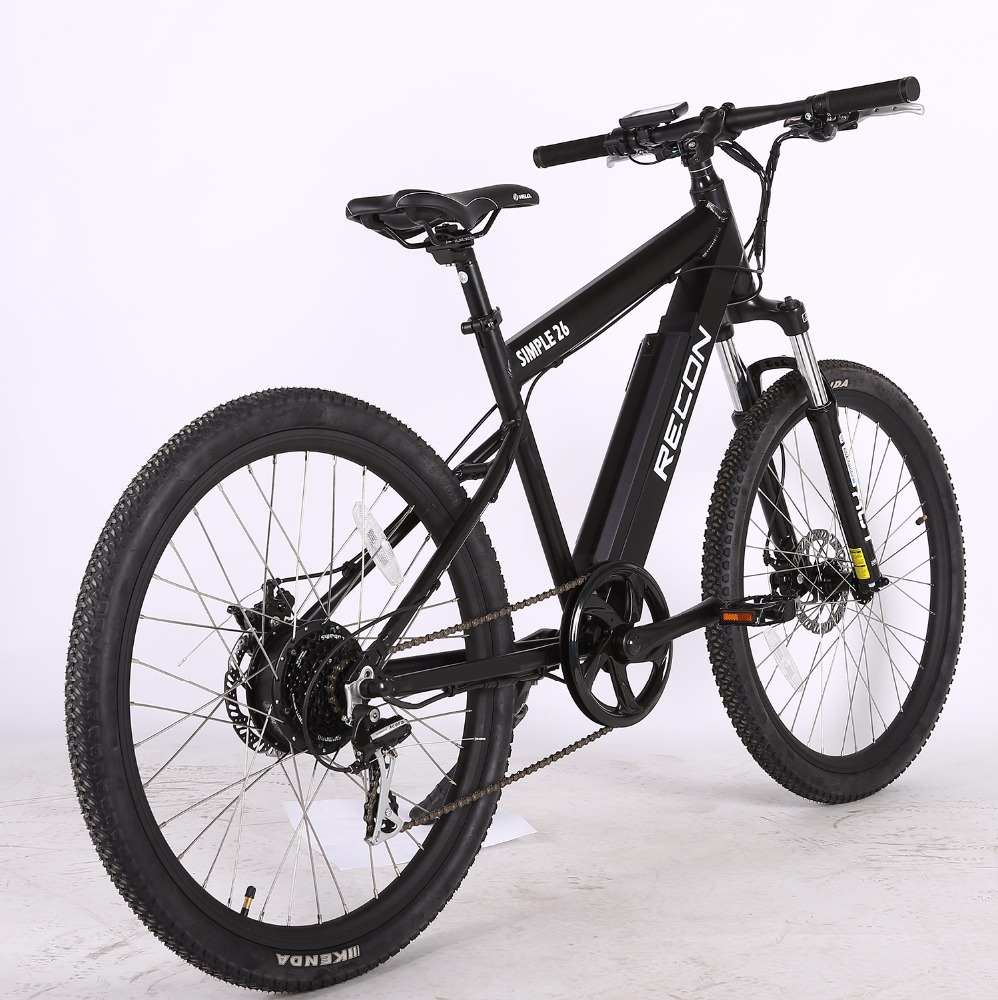 cheap 500W fat tire electric bike with 48V down tube battery