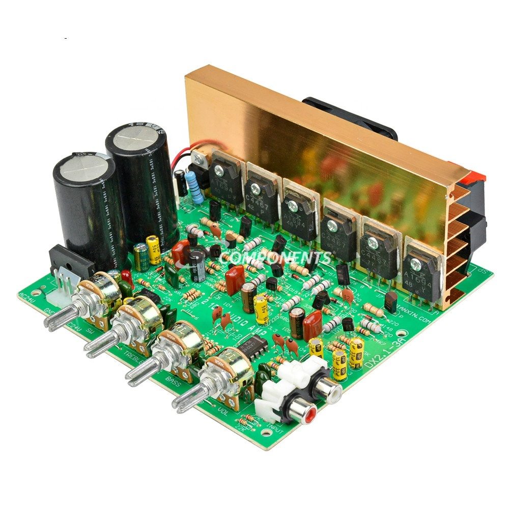50w Circuits Car Subwoofer Amplifier
