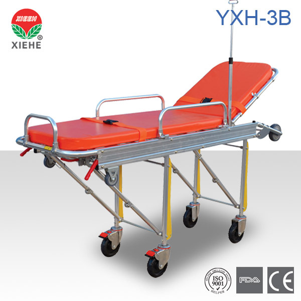 Hot Seller! CE FDA Approved Aluminum Alloy Ambulance Stretcher YXH-3B