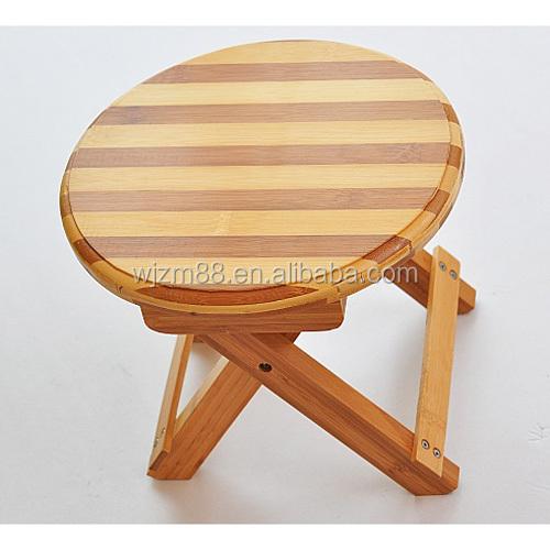Kids Furniture Potable Round Bamboo