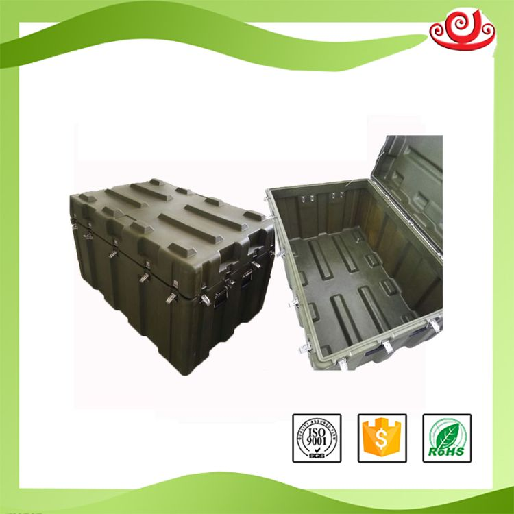 Tricases china good supplier hot selling IP67 hard plastic case roto moulded large plastic box RS880A