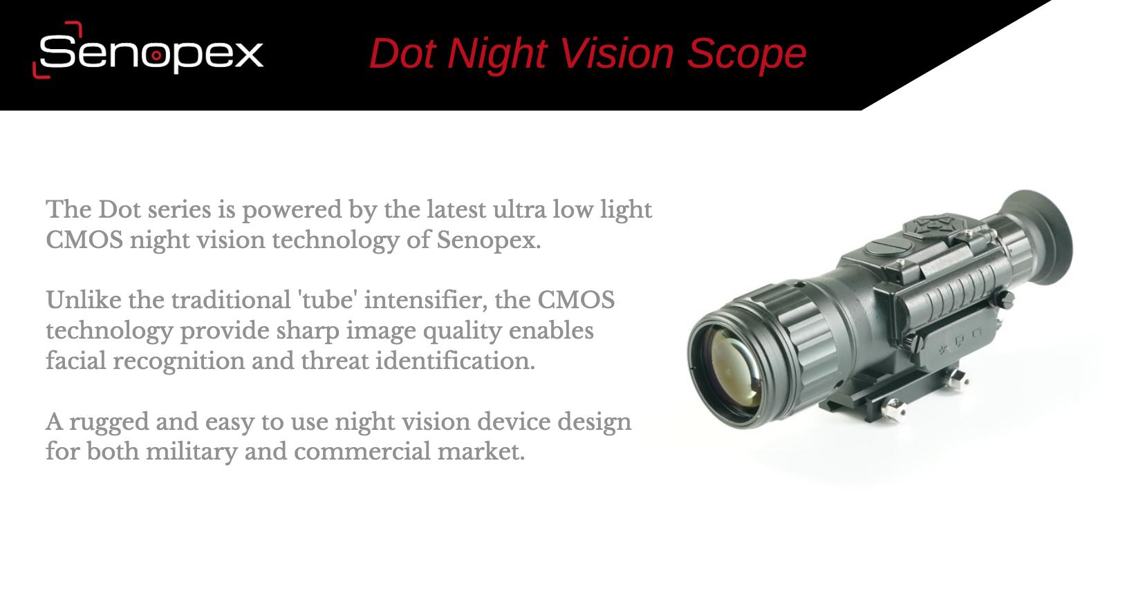 Fabrika Kaynağı Kızılötesi Termal Gece Görüş Görüntüleme Tüfek Kapsam Dijital