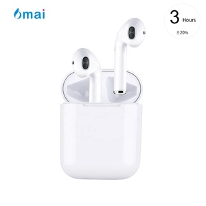 6mai Bluetooth 5.0 Hifi Stereo True Wireless Magnetic Tws Earbud Waterproof Sport Earphones with Charger Box