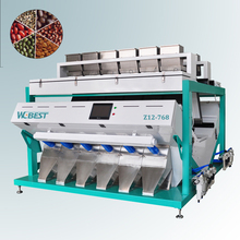 Different Size Optical CCD Color Sorter Machine for Coffee Bean sorting