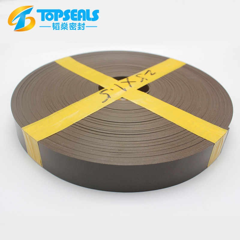 Higin quality Bronze filled ptfe teflon wear strip
