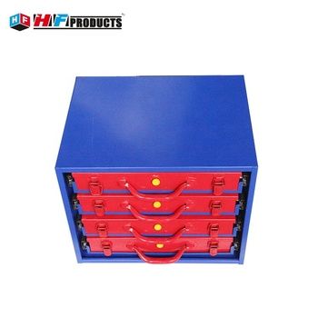 HF-TB118P4 Metal file cabinet drawer dividers tool chest box