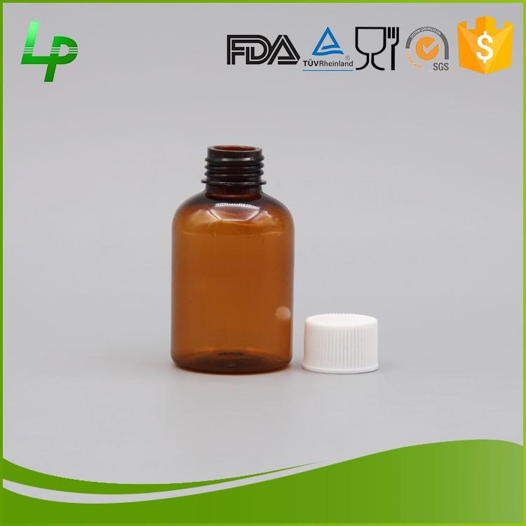 Liquid Medicine Use 30ml Eco Friendly Pet Material Plastic
