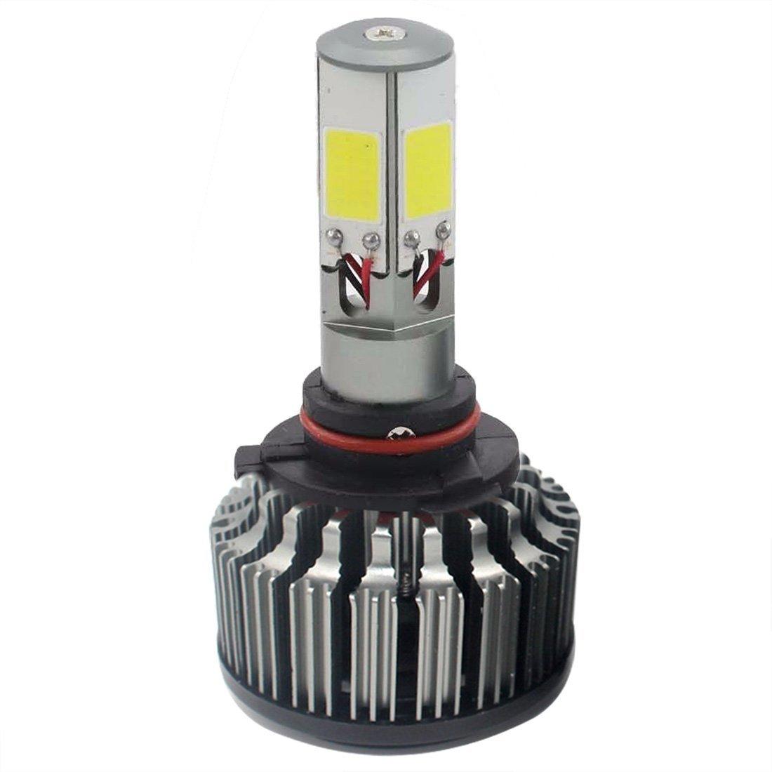low voltage interior lighting kits%0A Get Quotations    Bulbs  TOOGOO R    W      LM CREE LED Headlight Kit High  Low Beam Bulbs