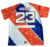 Cheap custom sublimation pullover short sleeve usa mens softball jersey