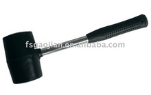 rubber mallet harmer with steel tubular handle