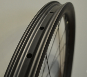 "CARBONICIAN 40mm wide hookless tubeless clincher mtb bike DH 26"" carbon wheels"