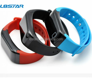 0.66inch touch screen sport activity tracker 4.0 bluetooth wearfit system