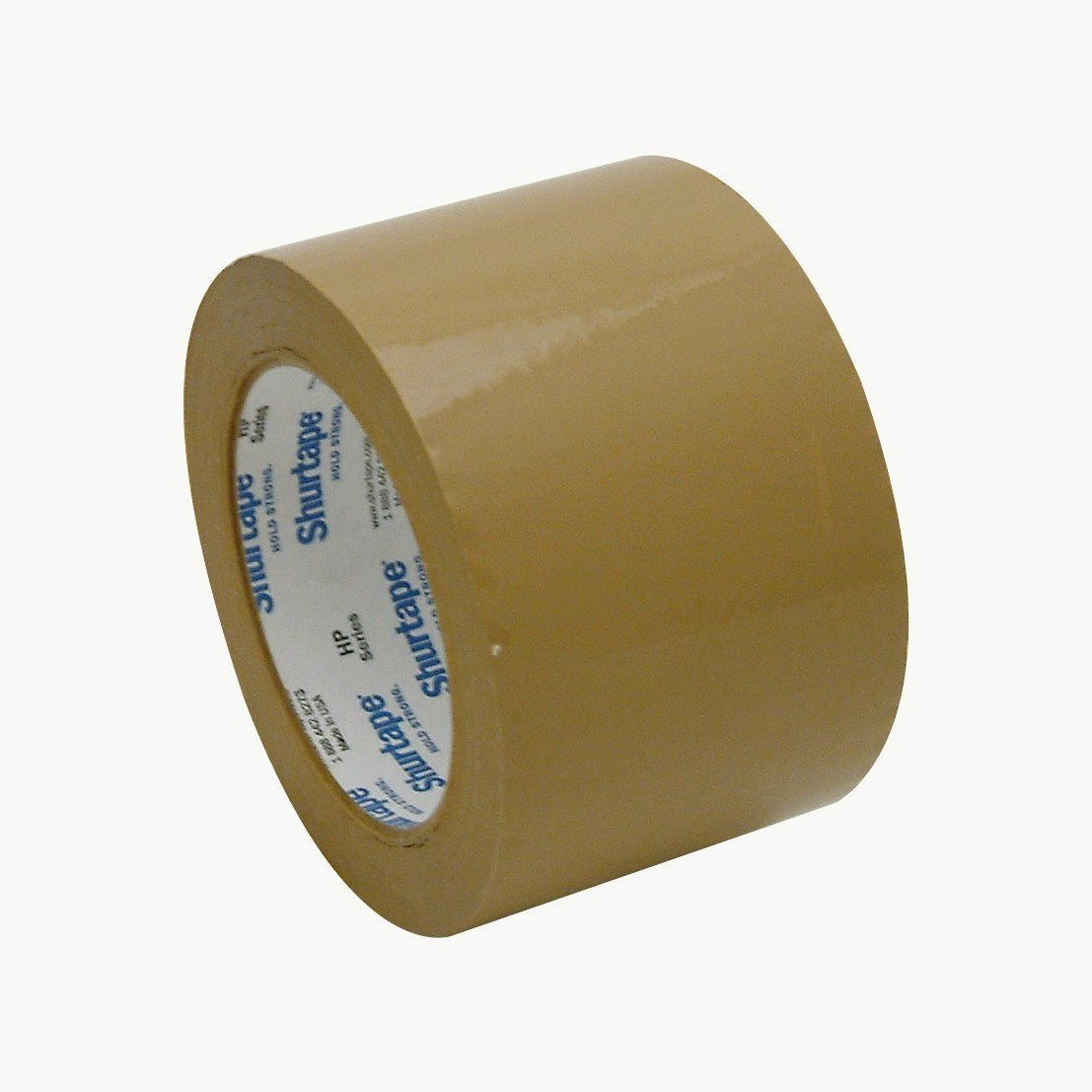 Shurtape HP-200 Production-Grade Packaging Tape: 3 in. x 110 yds. (Tan)
