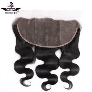 top quality virgin human hair piece natural hairline transparent lace ear to ear thin skin 13x6 lace frontal