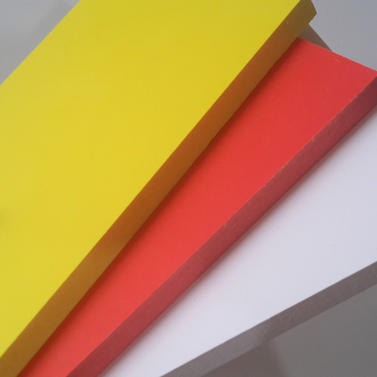 Pvc foam board hard surface laminated pvc foam board high density 3mm pvc foam board