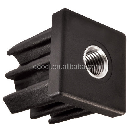 Custom high quality plastic self tapping square threaded insert nut