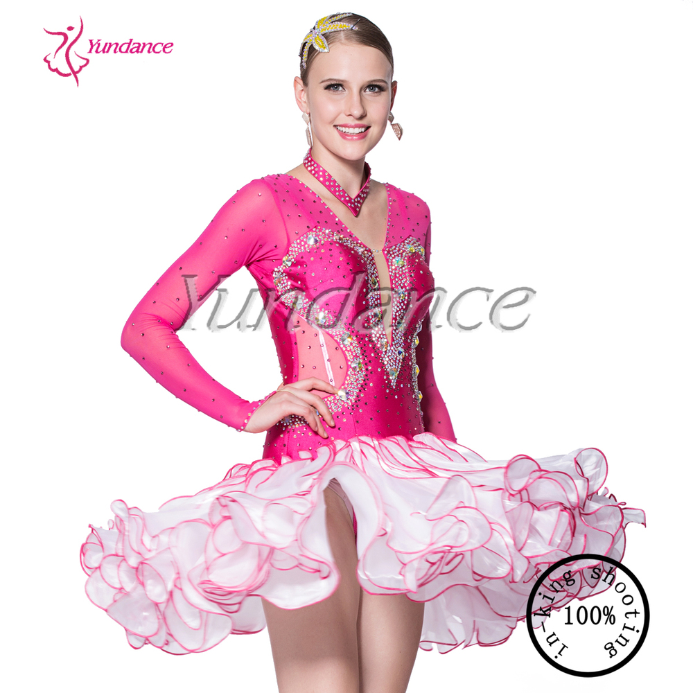 Moda Latina Vestido De La Danza Niña En China 2016 L-14113 - Buy ...