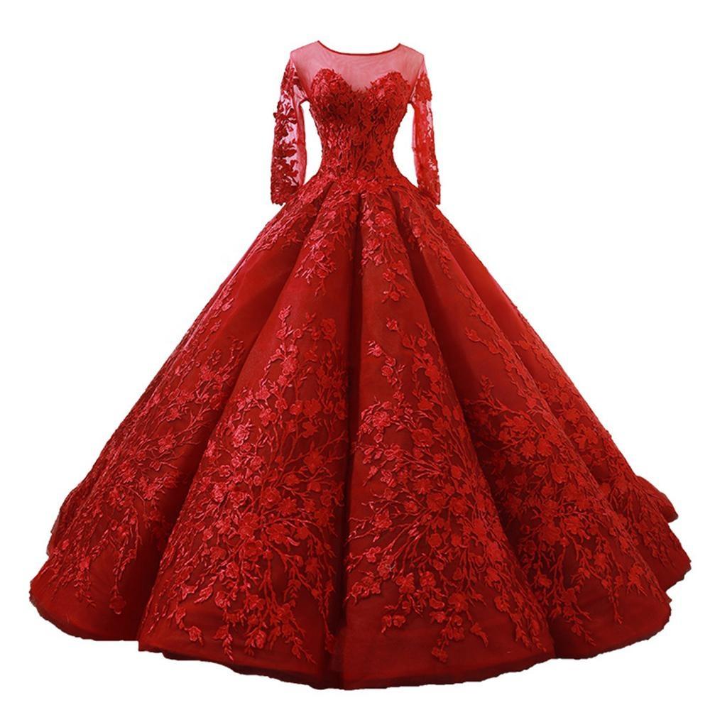 low priced a368f 7167c vestiti da cerimonia rossi all'ingrosso-Acquista online i ...