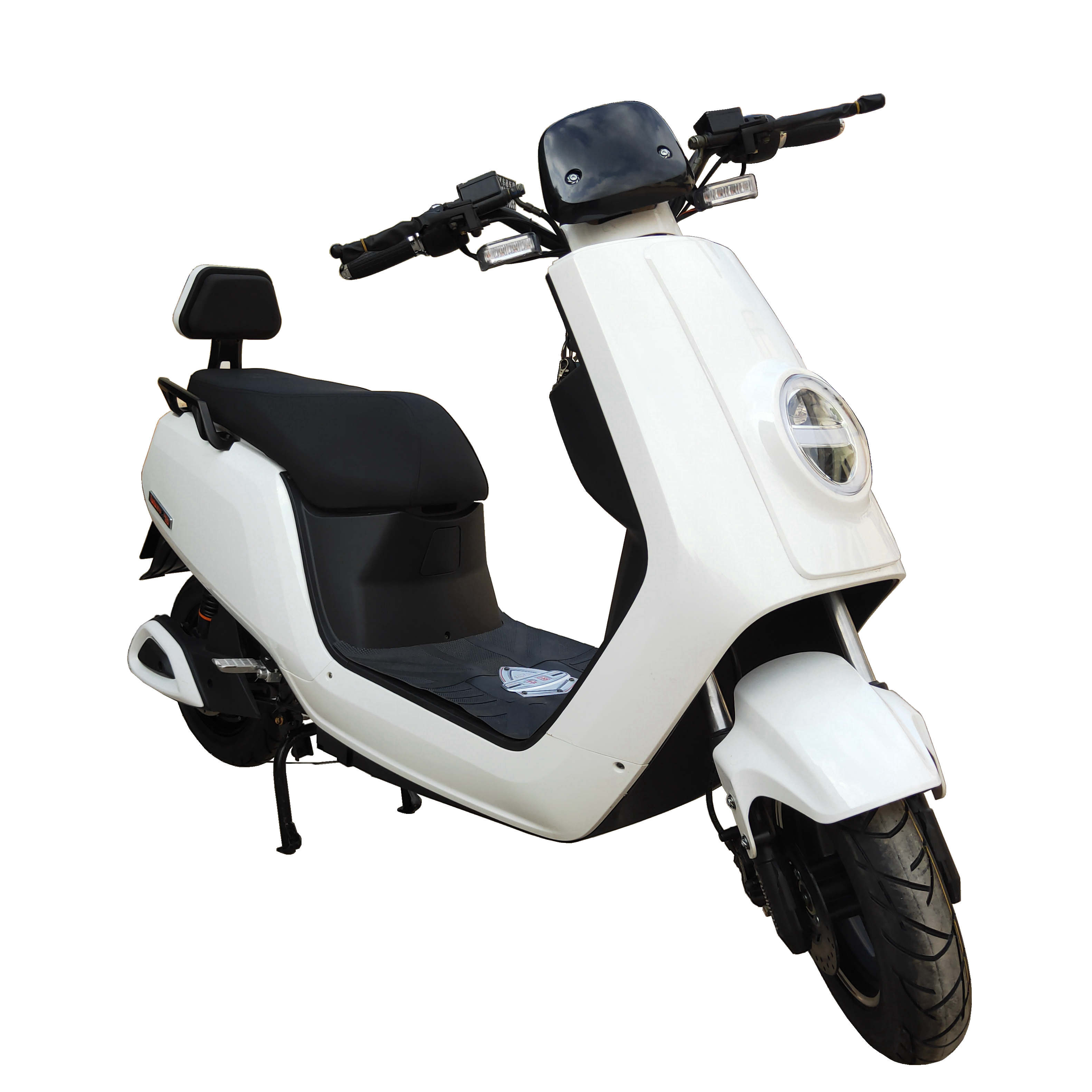 New arrival fancy electric scooter motorcycle with backrest for ladies