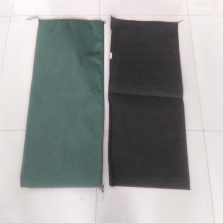 Geotextiles geo textile bag slope protection used polyester geotextile green sand bag