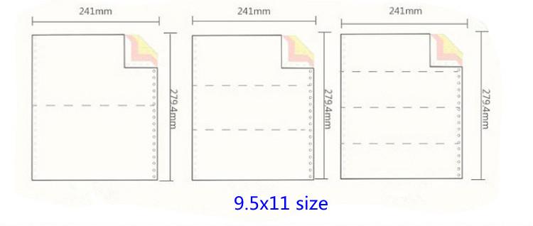 Printing Service voor Zelfkopiërend Form/Computer Form/Kettingformulier