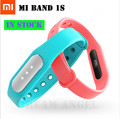 Original Xiaomi Mi Band 1S pulse miband fitness tracker heart rate IP67 Smart Bluetooth 4 0