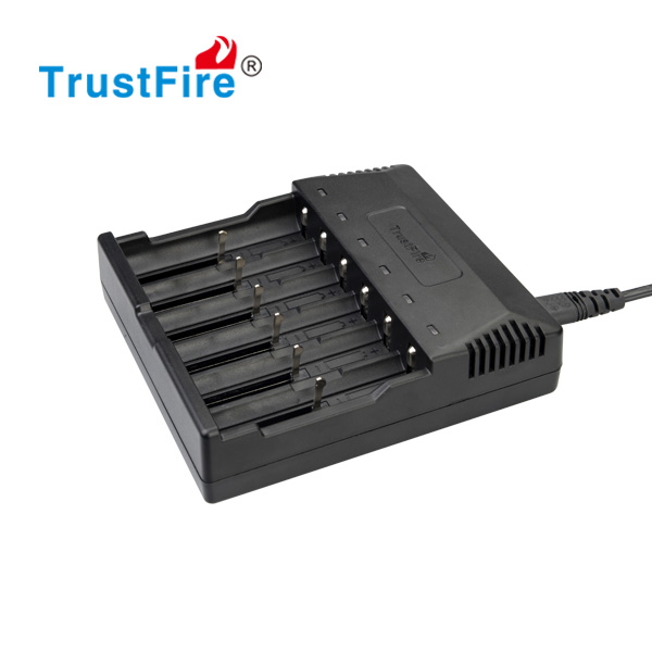 TrustFire innovative new products 6 slots charger intelligent li-ion charger battery AA