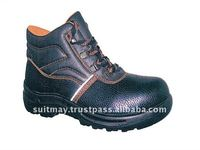 Cow Split Leather Shoes Safety Boots CE S1P Safety Shoes