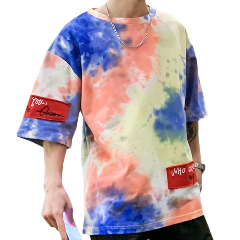 Mixed Color Short Sleeves Tshirt Men Sport Tshirt Round Neck Tshirt 3D Printed Top Quality фото