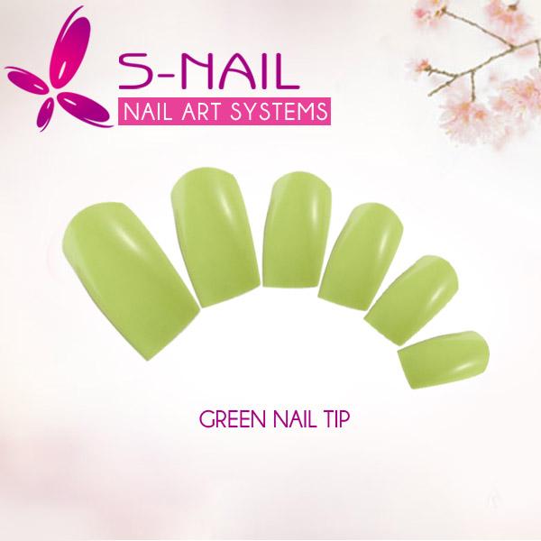 las uñas de acrílico de color diseños de uñas punta-Uñas postizas ...