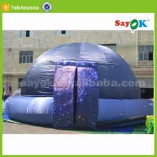 Party inflatable planetarium dome tent decoration star tent