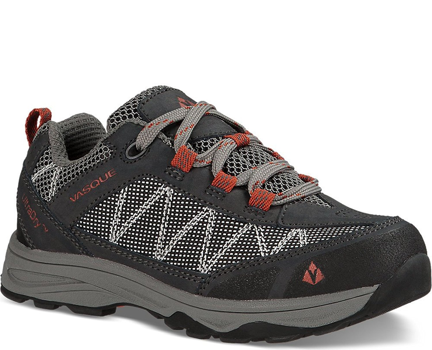 Vasque Kids Monolith Low UltraDry Hiking Shoes /& Knit Cap Bundle
